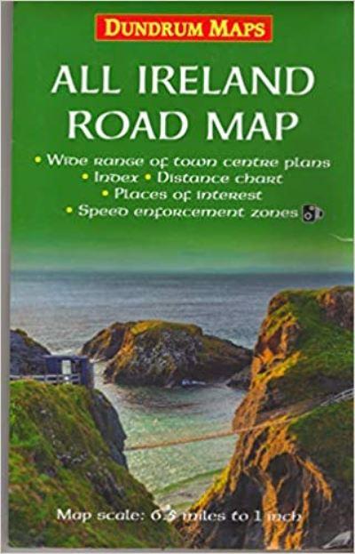 A4 Map Of Ireland.Irish Maps
