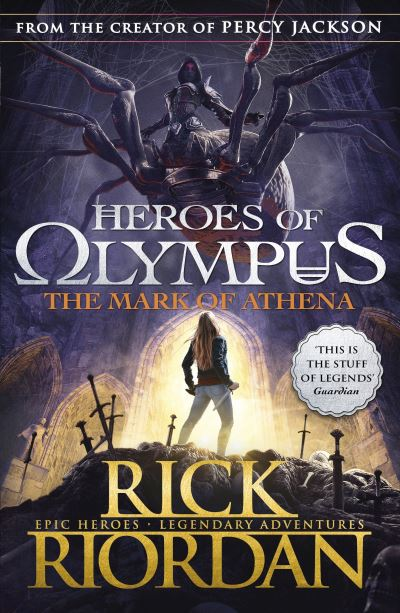 The heroes of Olympus series: The mark of Athena by Rick Riordan (Paperback)