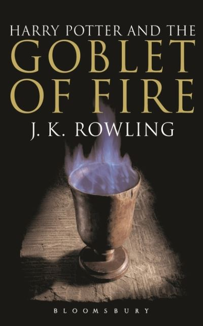 Harry Potter Book Goblet Of Fire ~ Harry potter and the goblet of fire by j k rowling