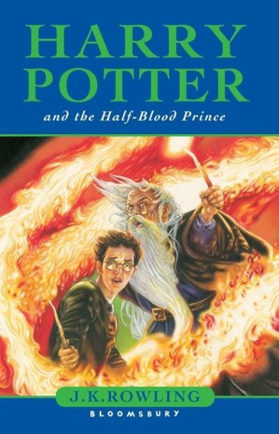 harry potter and the halfblood prince by j k rowling