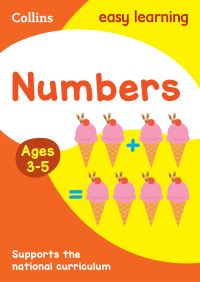 Numbers. Ages 3-5