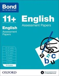 English. 5-6 years Assessment papers