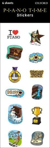Piano Time Stickers