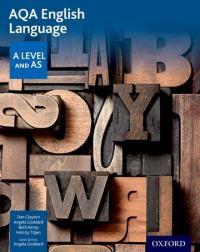 AQA A level English language. Student book