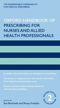 Oxford handbook of prescribing for nurses and allied health professionals