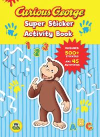 Jacket Image For: Curious George Super Sticker Activity Book