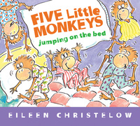 Jacket Image For: Five Little Monkeys Jumping on the Bed (Padded Board Book)