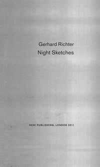 Jacket image for Night Sketches