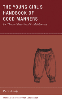 Jacket image for The Young Girl's Handbook of Good Manners