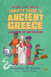 Jacket Image For: The Thrifty Guide to Ancient Greece