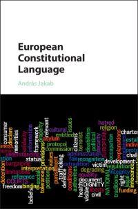 European constitutional language