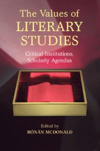 The values of literary studies