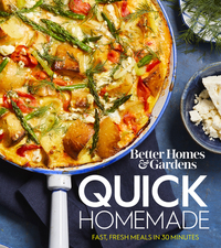 Jacket Image For: Better Homes and Gardens Quick Homemade