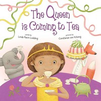 Jacket Image For: The Queen Is Coming to Tea