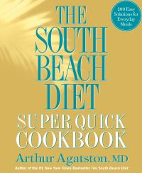 Jacket image for The South Beach Diet Super Quick Cookbook