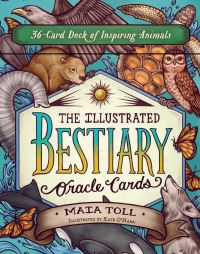 Jacket Image For: The Illustrated Bestiary Oracle Cards