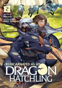 Jacket Image For: Reincarnated as a Dragon Hatchling (Light Novel) Vol. 2
