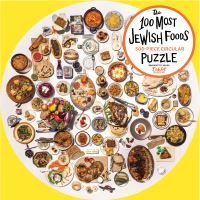 Jacket Image For: The 100 Most Jewish Foods: 500-Piece Circular Puzzle