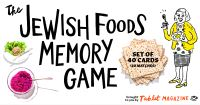 Jacket Image For: The Jewish Foods Memory Game