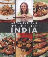 Jacket image for Meena Pathak's: Tastes of India
