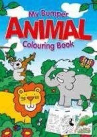 My Bumper Animal Colouring Book