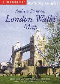 Jacket image for Andrew Duncan's London Walks Map
