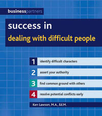 Jacket image for Success in Dealing with Difficult People