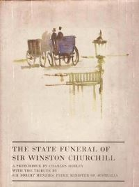 Jacket Image for the Title The State Funeral of Sir Winston Churchill