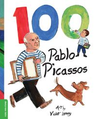 Jacket Image For: 100 Pablo Picassos