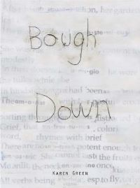 Jacket image for Karen Green - Bough Down