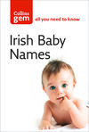 Irish babies' names.