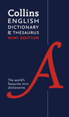 Collins mini English dictionary & thesaurus
