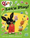 Let's Play sticker activity book.