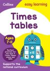 Tmes tables. Ages 7-11