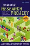 Doing your research project : a guide for first-time researchers