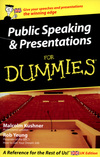 Public Speaking & Presentations for Dummies