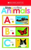 Slide and find animals ABC