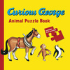 Curious George Animal Puzzle Book