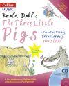 Roald Dahl's The Three Little Pigs (Book + CD/CD-ROM)