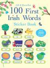 100 First Irish Words Sticker Book