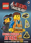 The Lego Movie: Master Builders Attack Sticker Book