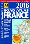 AA road atlas France 2016
