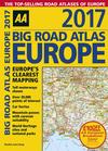 AA Big Road Atlas Europe 2017
