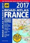 AA Road Atlas France 2017