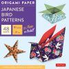 Origami Paper :Japanese Bird Patterns