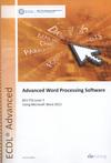 Advanced word processing software using Microsoft Word 2013. BCS ITQ level 3