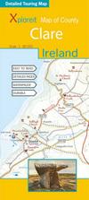 Xploreit Map of County Clare, Ireland