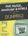 PHP, MySQL¬, JavaScript¬ & HTML5 all-in-one for dummies¬