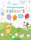 My First Colours Colouring Book