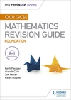 OCR GCSE maths. Foundation Mastering mathematics revision guide
